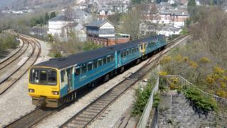 A Pacer train
