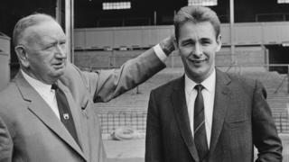 Sam Longson with Brian Clough