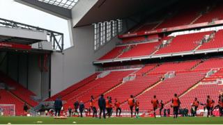 Liverpool. Liga Primer