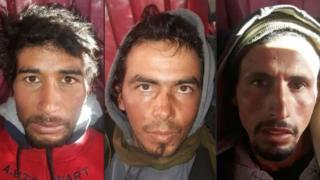 Les trois condamnés à mort pour la décapitation de deux touristes scandinaves