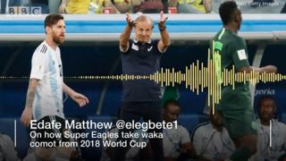 Edafe Mattew on how Super Eagles comot from WC