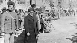 İran hərbçiləri, 1911-ci il Tehran