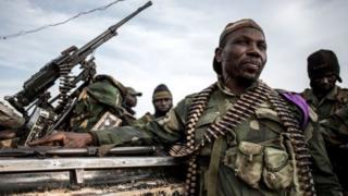 Des soldats Congolais