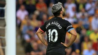 Ike agwụla Kun Aguero nke Manchester City