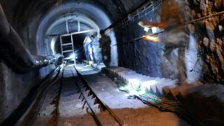 Спасательные работы на угольной шахте в Китае