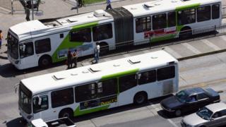 Buses Transantiago