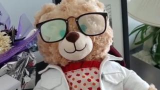 Mara Soriano's teddy bear