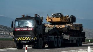 ترکیه در جریان این حمله نظامی تلاش میکند کردها را از عفرین بیرون براند