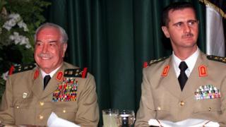 مصطفى طلاس والأسد