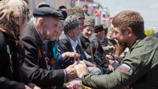 Кадыров и ветераны