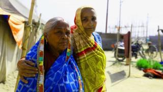 Girija Devi and Manorama