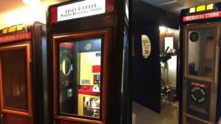 Voice recording booth