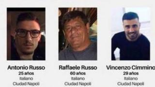 Warga Italia hilang di Mexico
