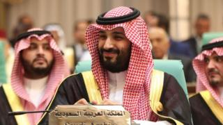الأمير محمد بن سلمان أثناء القمة الإسلامية في مكة يونيو/حزيران 2019
