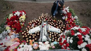 акция памяти погибших над Синаем