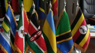 Bendera za mataifa ya Afrika mashariki