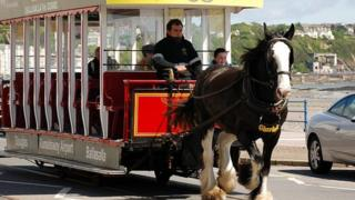 Douglas Horse Trams courtesy Manxscenes.com