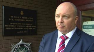 Mark Lindsay is chairman of the Police Federation for Northern Ireland