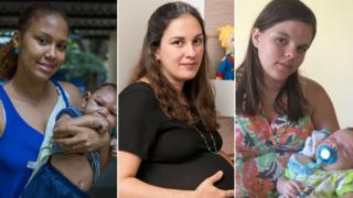 Three mothers coping with an outbreak of Zika in Brazil