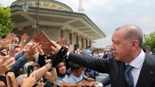 Turkish President Erdogan