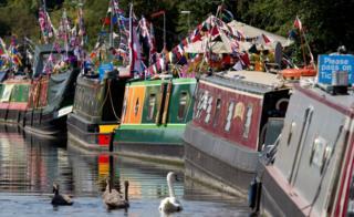 Festival boats