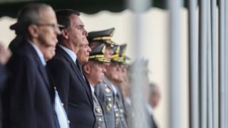 Bolsonaro participa da cerimônia de formatura de cadetes das Agulhas Negras