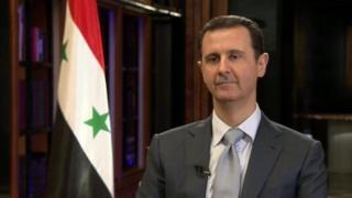 Rais Bashar al-Assad wa Syria