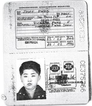 Kim Jong-un oo wiil yar