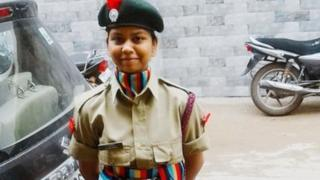 Anamika wanted to join the Indian army
