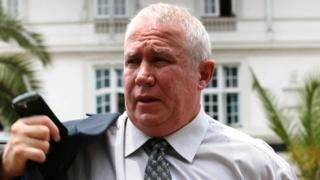 Zimbabwean opposition figure Roy Bennett, 12 November 2009