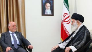 علی خامنهای و حیدر عبادی