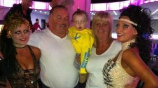 The Cockburn family who died in the crash on the A18