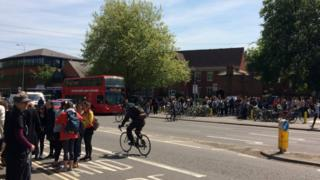 Bike ride in Botley