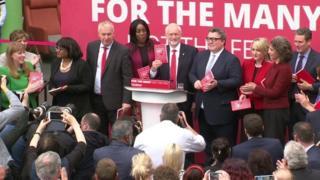 Labour manifesto launch