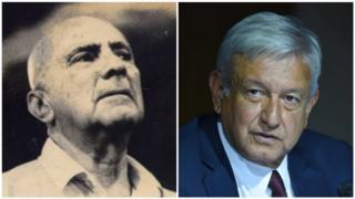 Carlos Pellicer y López Obrador
