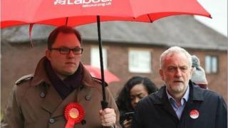 Gareth Snell and Jeremy Corbyn