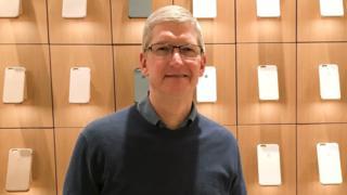 アップル社のティム・クックCEO