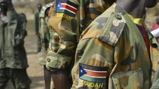 South Sudan soldier uniform