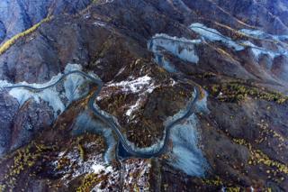 Перевал Чике-Таман и Чуйский тракт в Онгудайском районе Республики Алтай
