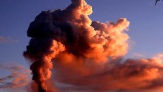 自然,科學,火山,意大利,星球,旅行