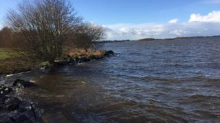 A network of land around the lough shore is being managed for nature