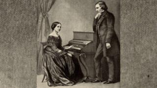 Клара и Роберт Шуманы