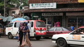 La vie quotidienne à Libreville (archives)