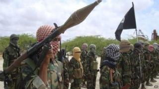 Wapiganaji wa kundi la al-Shabab
