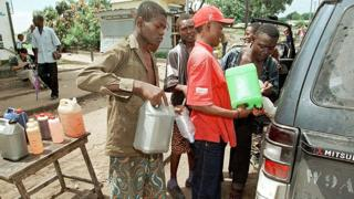 Pénurie de carburant à Brazzaville (archive)