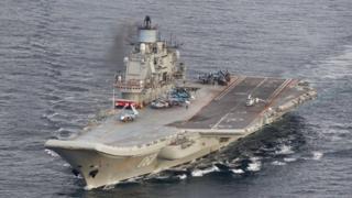 """حاملة الطائرات الروسية """"الأدميرال كوزنيتسوف"""""""