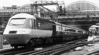 British Rail Inter-City train 1978