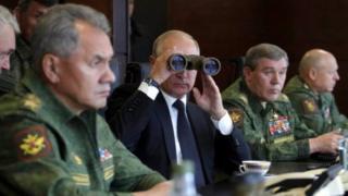 بوتين وشويغو