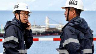 क्रोएशिया में चीनी वर्कर