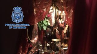 Police seized of objects related to black magic and the ritual-filled Santeria religion